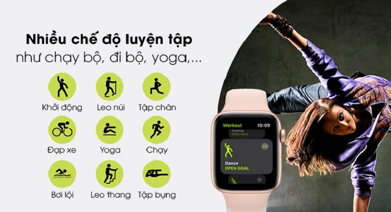thể dục Apple Watch SE 40mm GPS Chính Hãng
