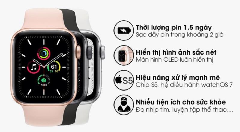 tính năng Apple Watch SE 40mm GPS