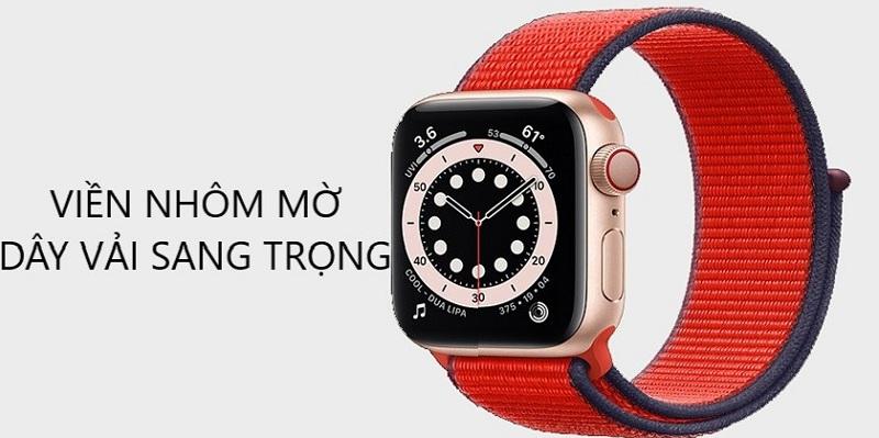 thiết kế Apple Watch SE 44mm (4G)