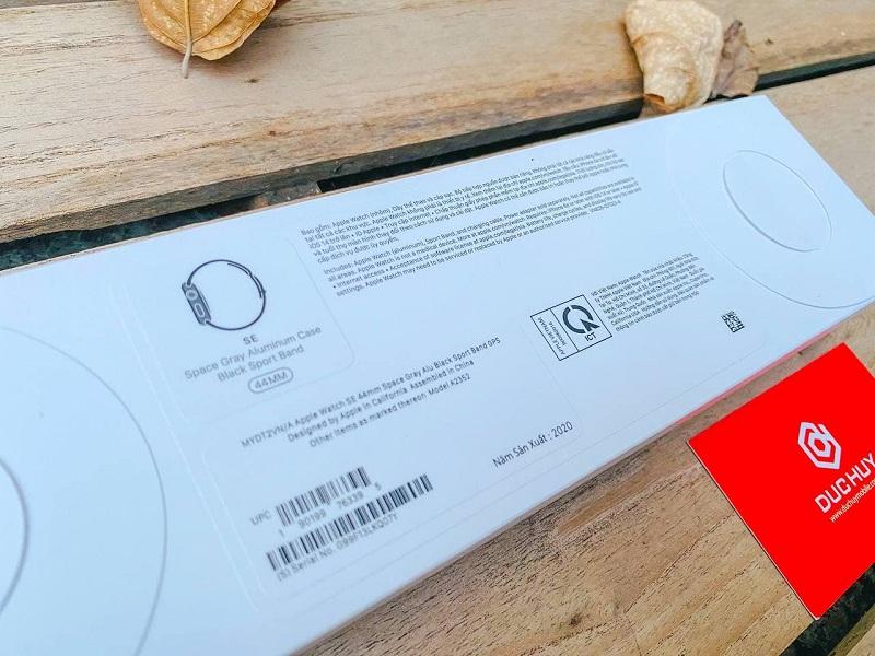 thông tin Apple Watch SE 44mm (GPS)