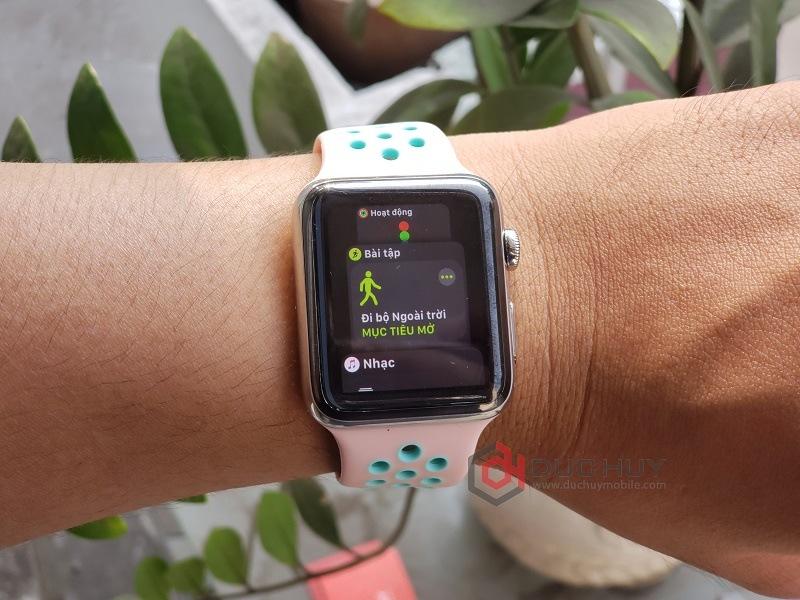 đánh giá apple watch series 3 42mm tính năng