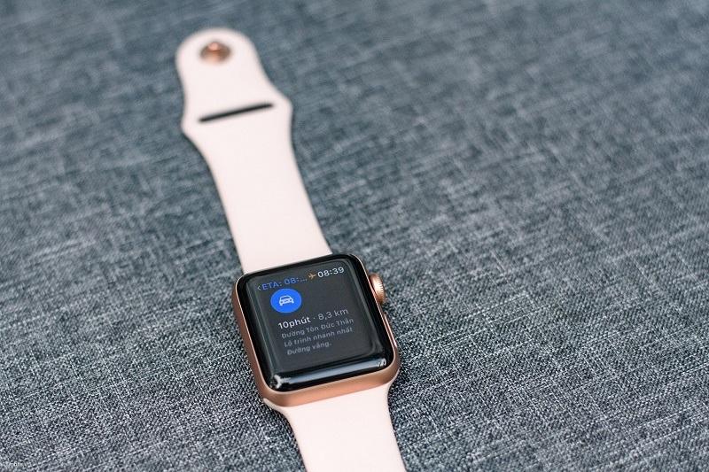 đánh giá apple watch series 3 like new thiết kế