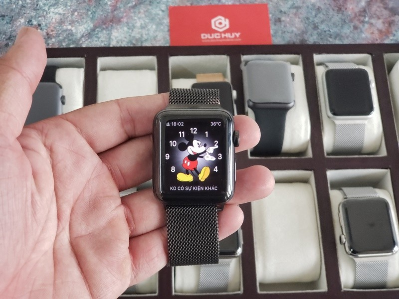 đánh giá apple watch series 3 like new