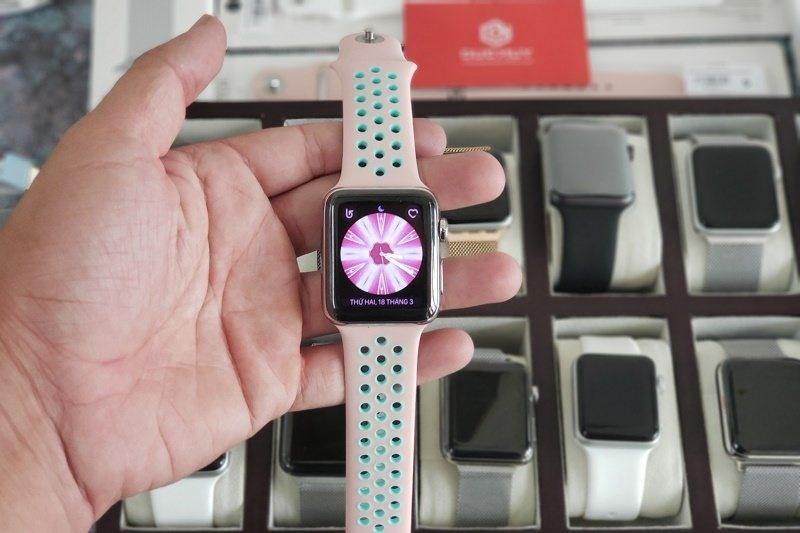 mua apple watch series 2 dây da