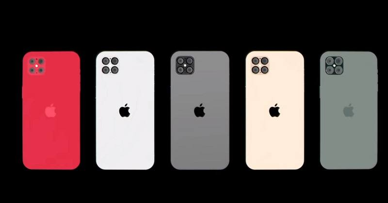 các mẫu iPhone 2020