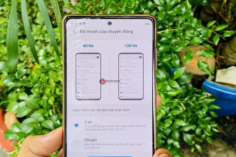 màn hình Samsung Galaxy S20 FE