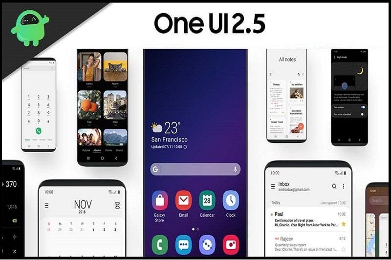 Phiên bản One UI 2.5 được nâng cấp nhiều tính năng