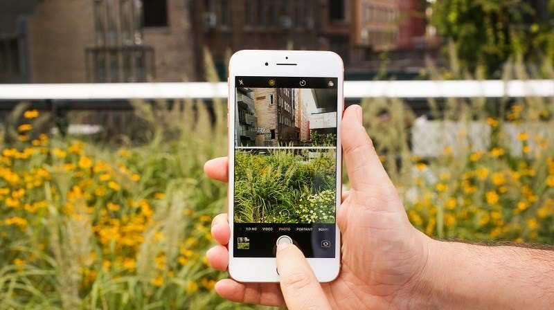 apple cập nhật ios iphone 8 plus lỗi camera
