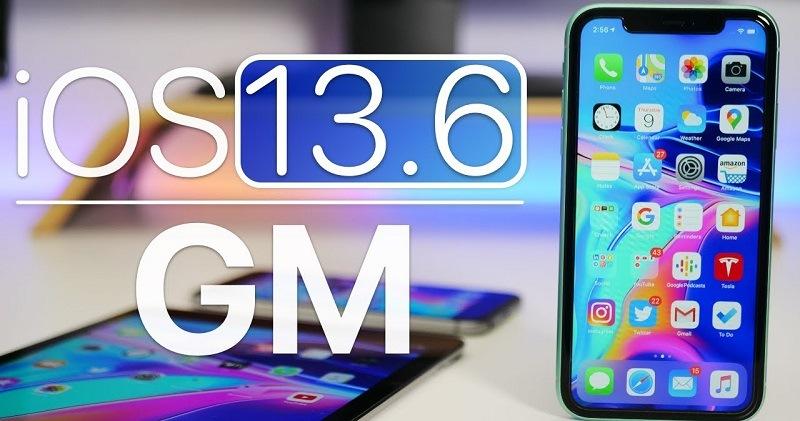 Apple iOS 13.6 GM