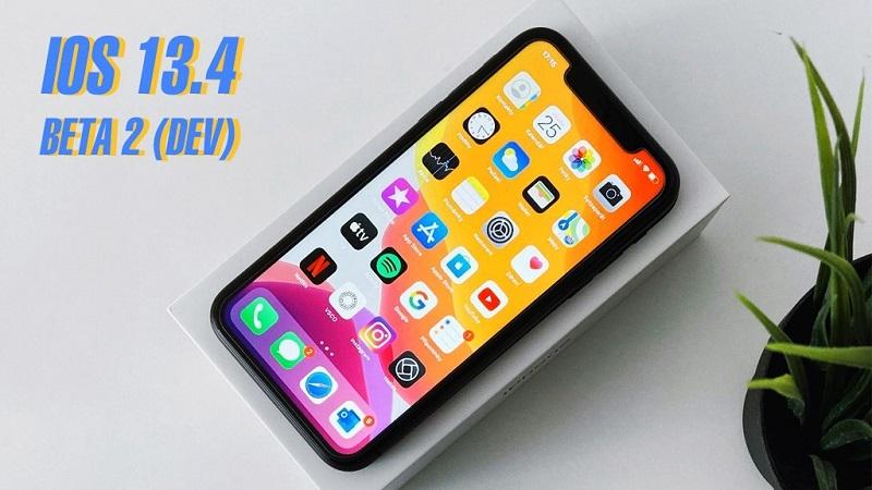 Apple phát hàng cập nhất ios 13.4