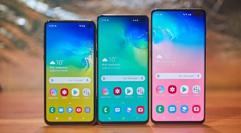 Bộ ba Samsung Galaxy S