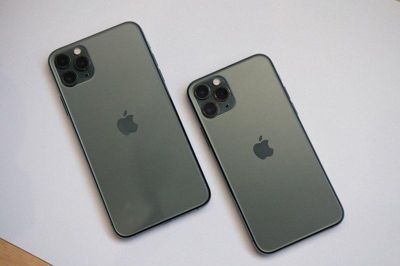 bộ đôi iphone 11 pro mới ra mắt