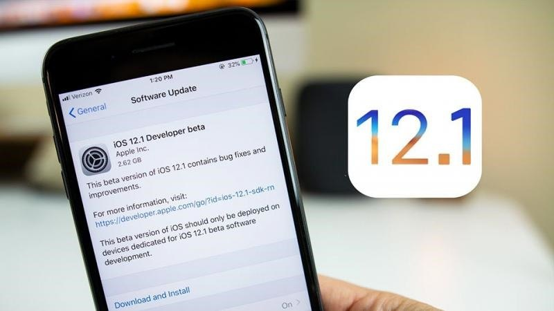 cách tải ios 12.1 trên iphone, ipad