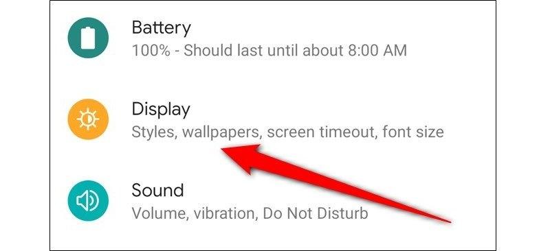 Cách tiết kiệm pin trên Google Pixel 4 và Pixel 4 XL bước 2