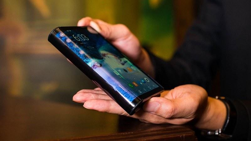 điện thoại màn hình gập samsung sắp ra mắt