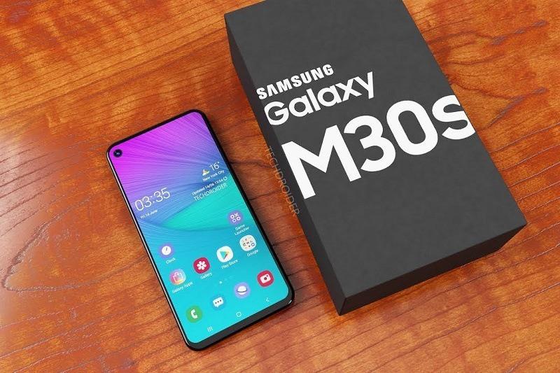galaxy m30s sắp ra mắt