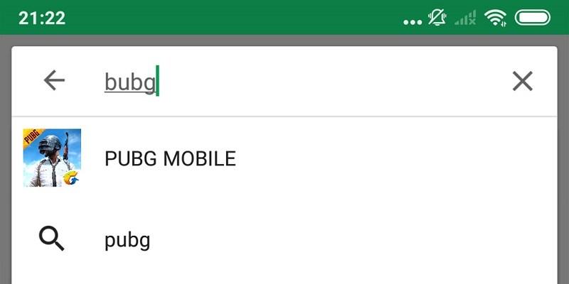 game bubg trên google play