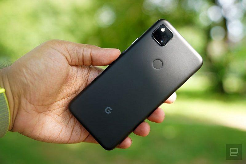 Mặt sau Google Pixel 4a
