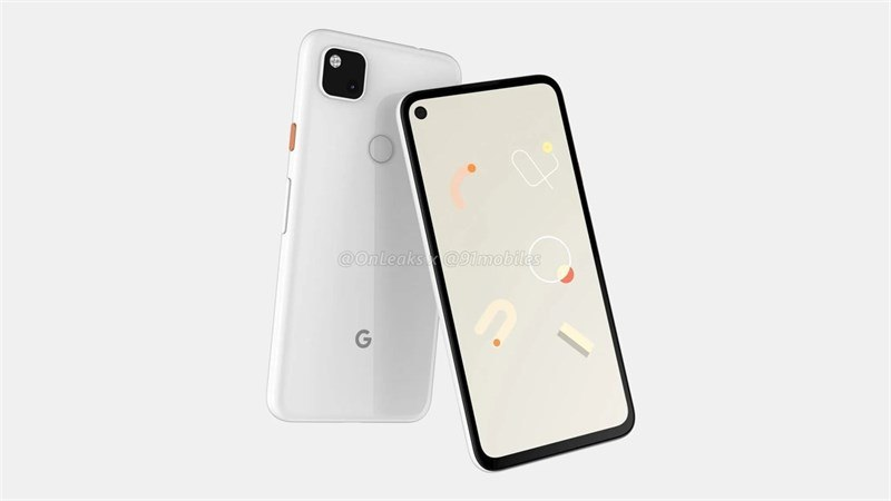 Google Pixel 4a màu trắng