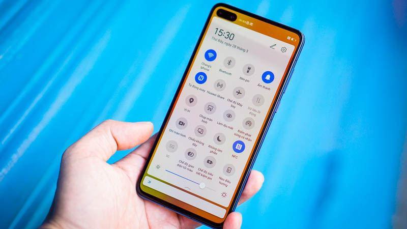 Cấu hình Huawei P40 hiệu năng