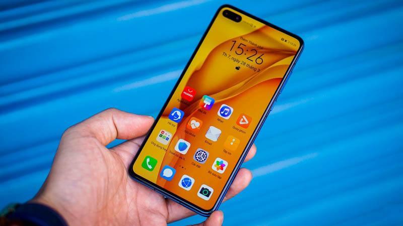 Huawei P40 màn hình
