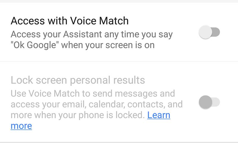 hướng dẫn gọi google assistant bước 5