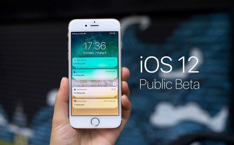 apple phát hành iOS 12.3 Public Beta