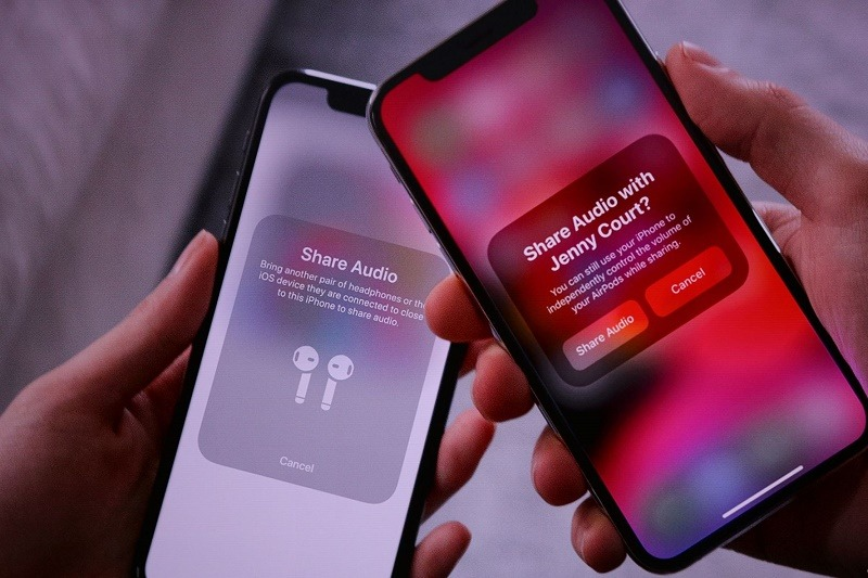 ios 13 hổ trợ airpods