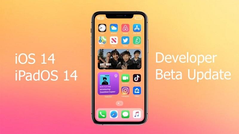 ios 14 beta cập nhật