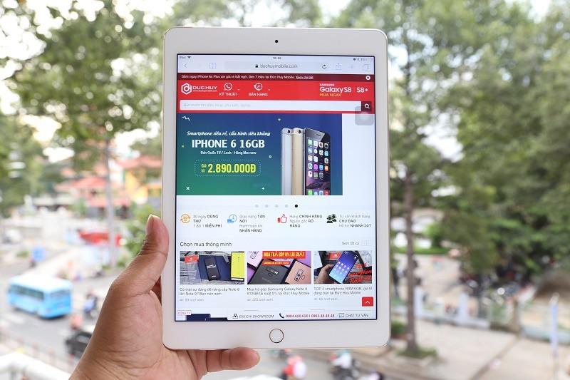 ipad air 2 giá rẻ màn hình đẹp