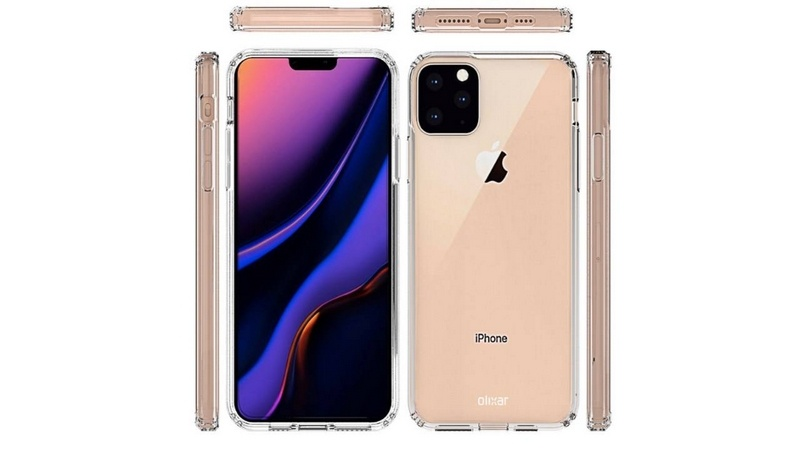 iphone 11 lộ ảnh thiết kế