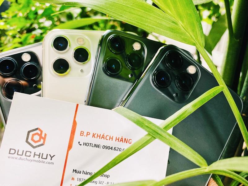 iPhone 11 Pro Max có 3 camera sau chất lượng
