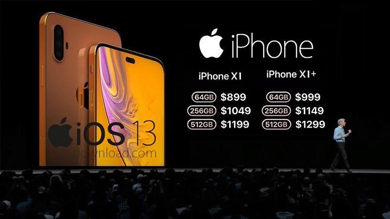 iphone 11 tin đồn giá bán