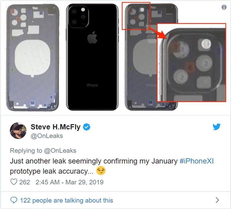 iphone 11 tin đồn về camera