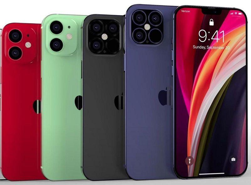 Thiết kế dự kiến của loạt iPhone 12 năm sau