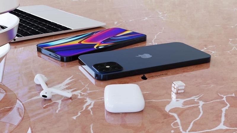 iphone 12 pro xanh navy cạnh