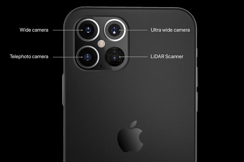 phone 12 và iphone 12 pro sự khác biệt camera iphone 12 pro