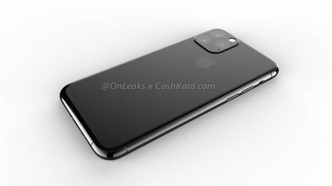 iPhone 2019 sẽ tích hợp camera vào mặt lưng