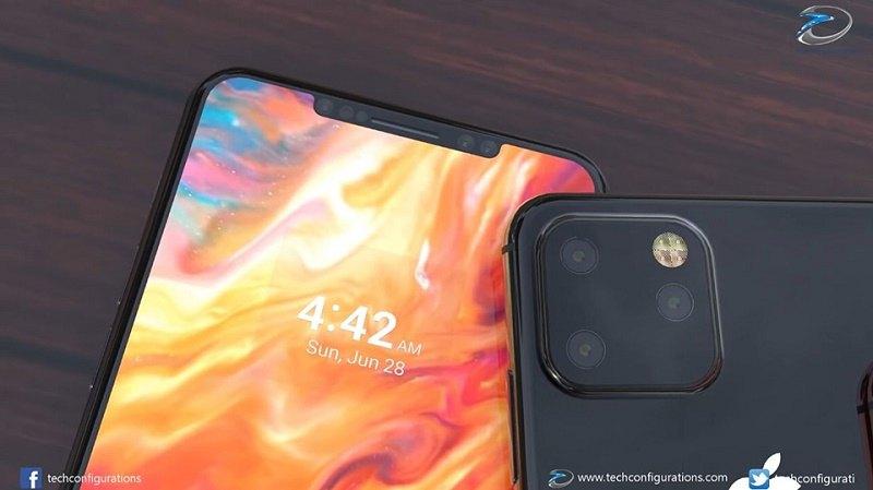iphone xi max concept render camera