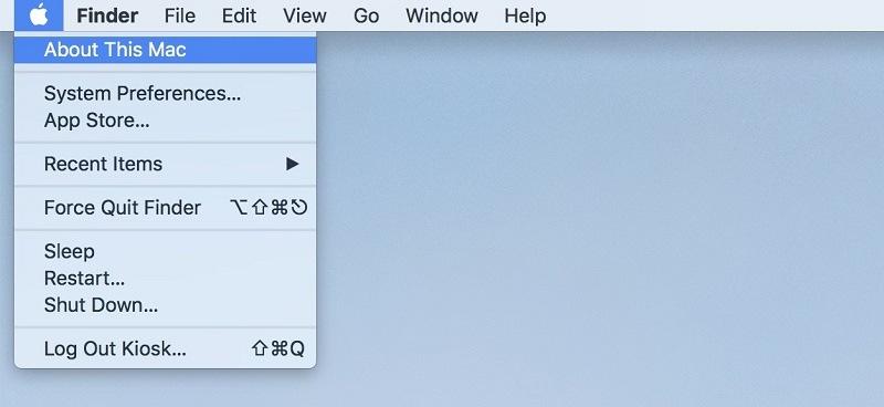 kiểm tra macbook pro bước 1