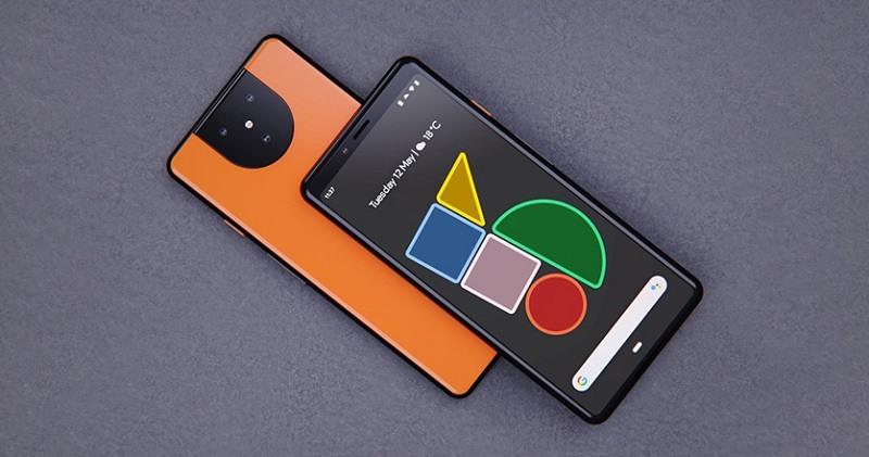 Ảnh concept Pixel 5