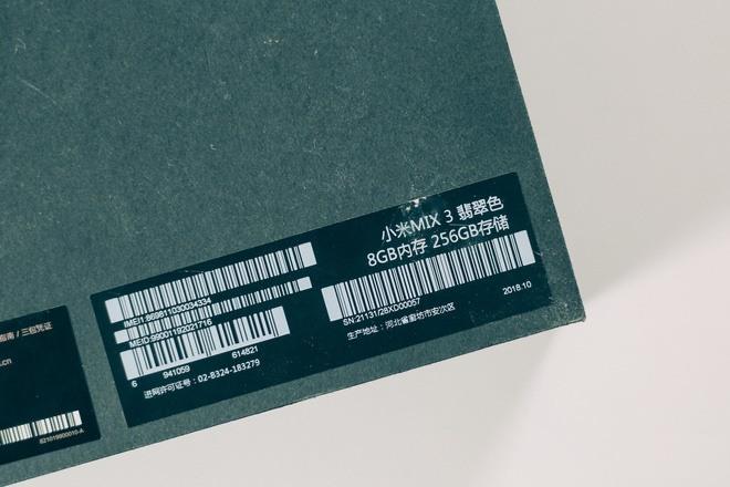 mở hộp xiaomi mi mix 3 dung lượng 256gb
