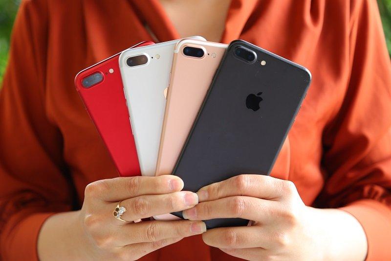 mua iphone 7, iphone 8 cũ màn hình lớn
