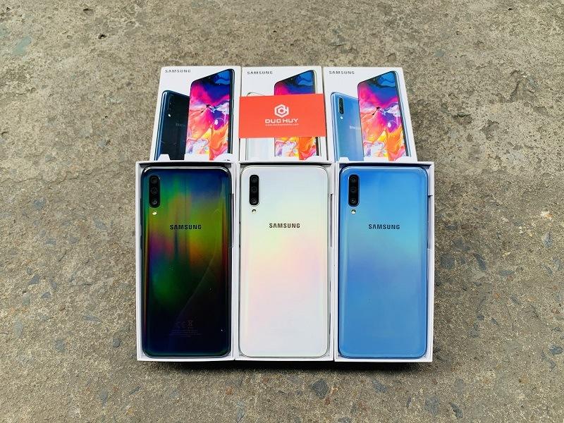 Samsung Galaxy A70 có 3 màu lựa chọn