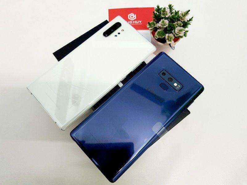 So sánh thiết kế Samsung Galaxy Note 9 và Samsung Galaxy Note 10 Plus 5G