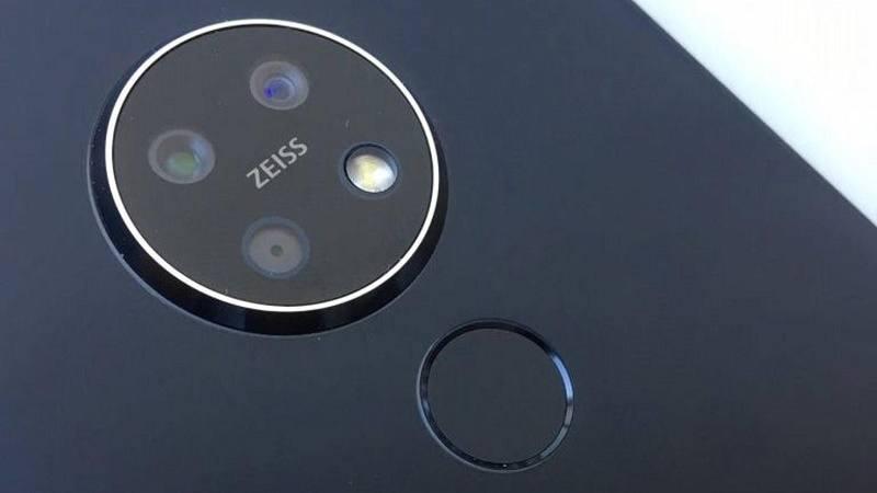 nokia 7.2 lộ ảnh ống kính tròn 3 camera
