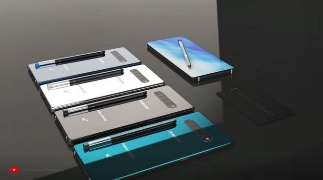 note 10 concept thiết kế