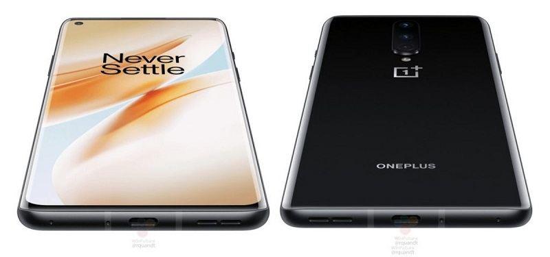 Màn hình và mặt lưng OnePlus 8