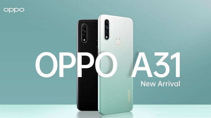 OPPO A31 chính thức ra mắt