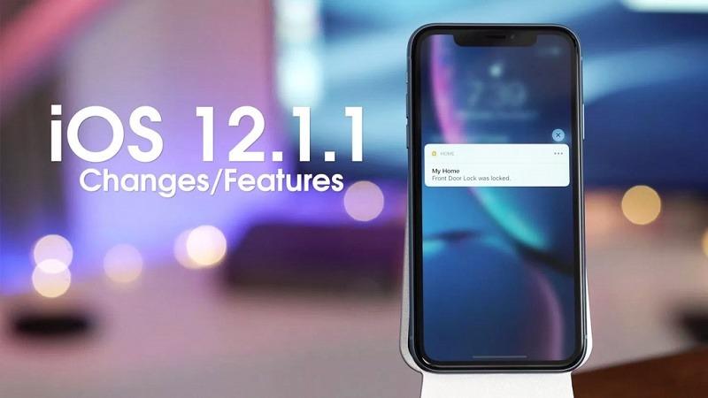 phiên bản ios 12.1.1